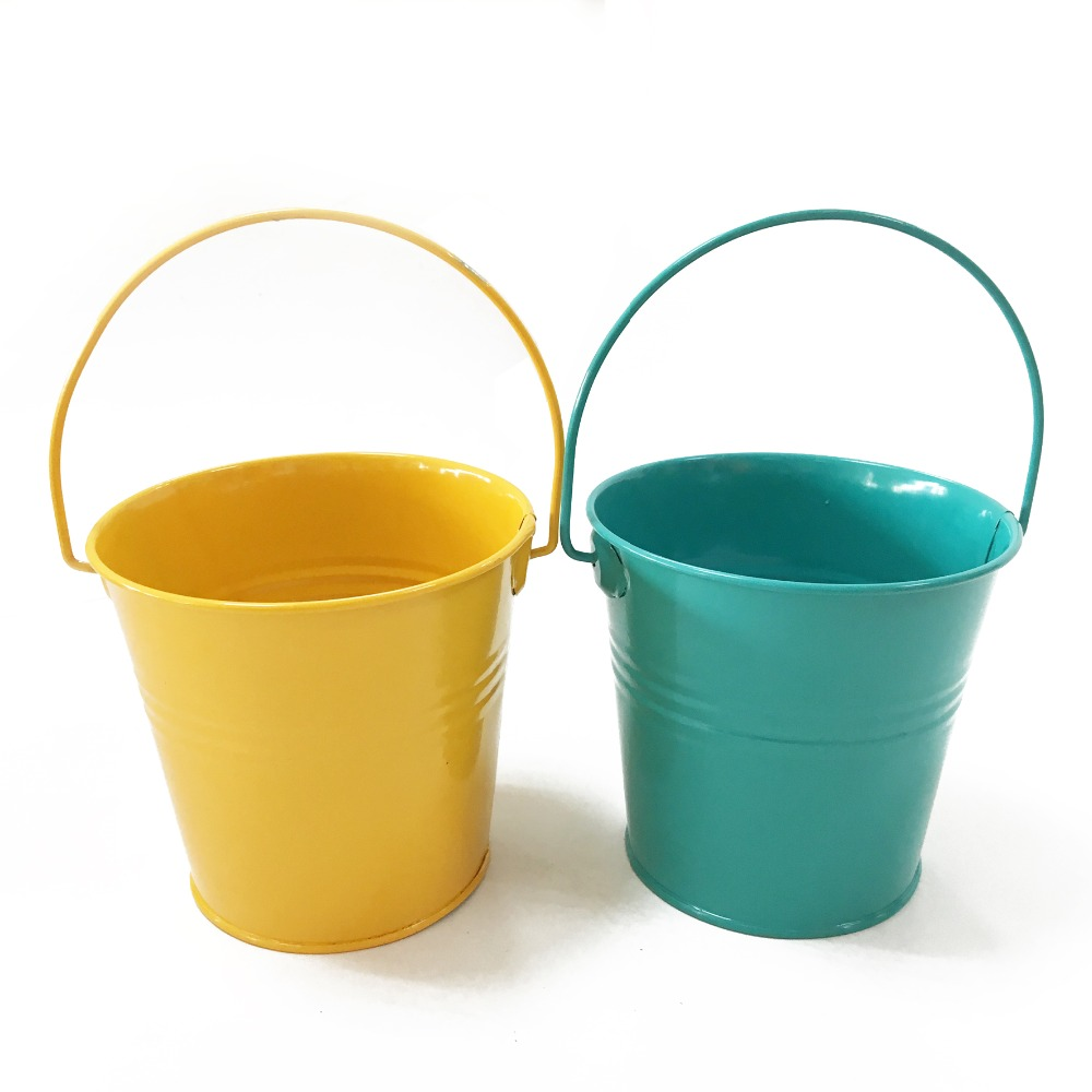 2 gallonen küche kompost eimer, blecheimer mit deckel und griff