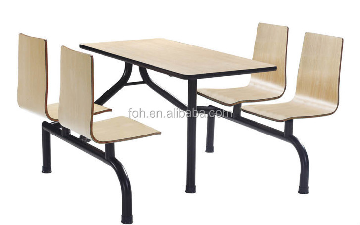 Mcdonald 39 S Table And Chair Fast Food Furniture Foh Cbc02 Buy Dining Table And Chair Set
