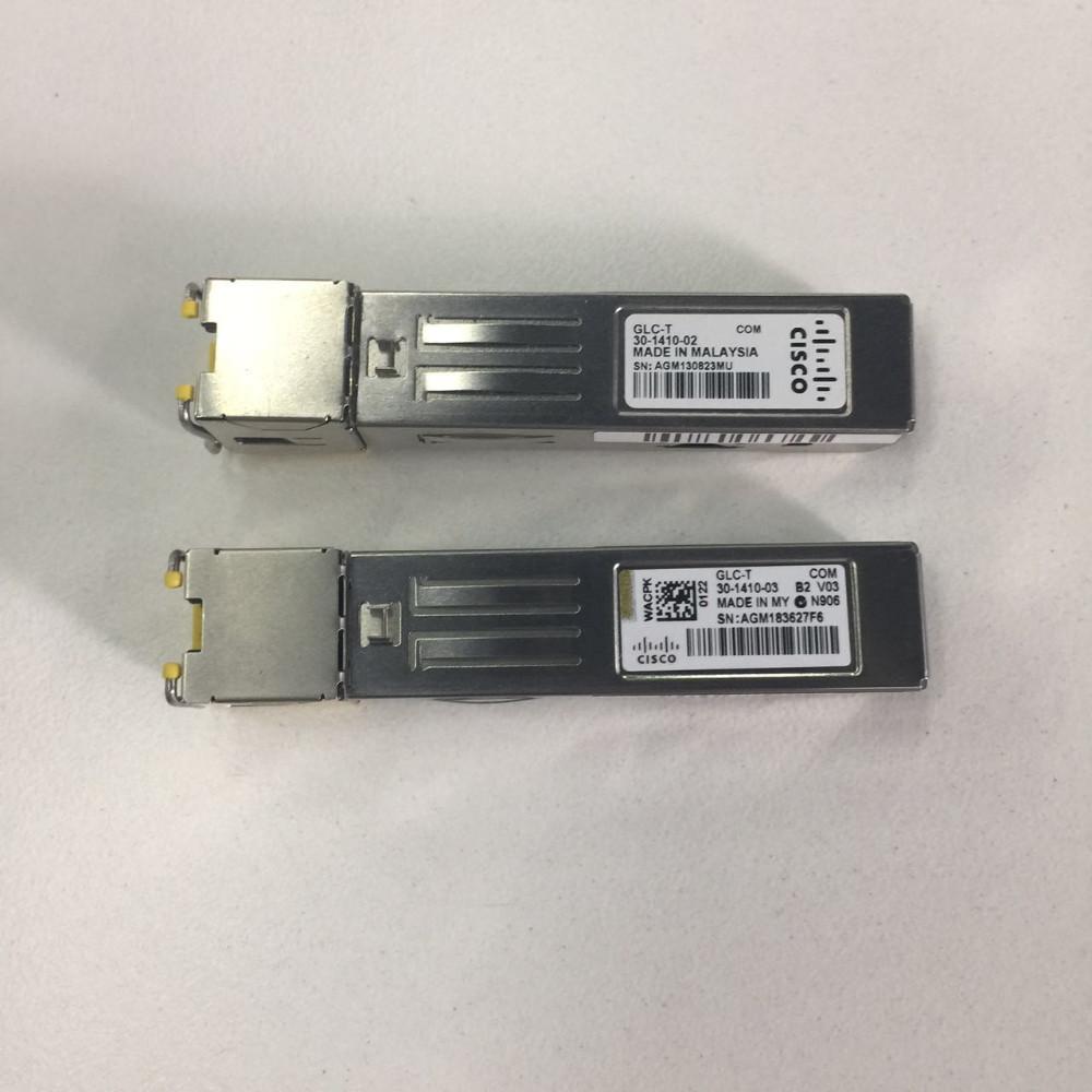 Original Cisco Glc-t Sfp 1 25gb/s Ge 1000base-t Cat5 Copper 100m - Buy  Copper Sfp 10gb,Copper Sfp Transceiver Rj45,Cisco 3750 Sfp Module Product  on