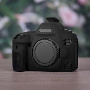 Anti-scratch Silicone Skin Case Body Cover Protector Soft Frame Skin for Canon EOS 5D4 5D Mark 4 IV DSLR Digital Camera
