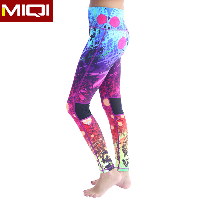 Hot Sale Workout Leggings Sublimation Printed Yoga Activewear OEM Service Sports Pants For Women