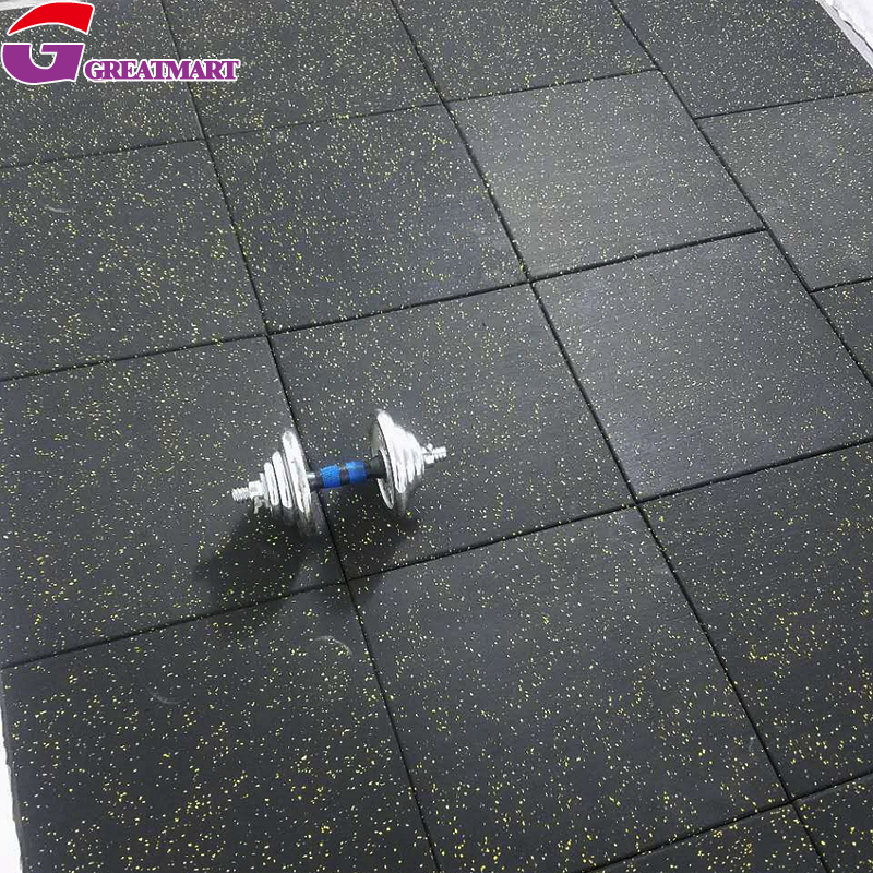 Cheap Price Durable Fitness Crossfit Gym Rubber Flooring
