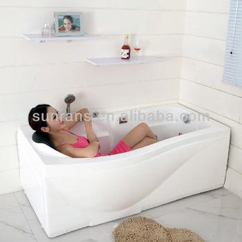 NEW Design Massage Bath Tub Small Deep Bathtub