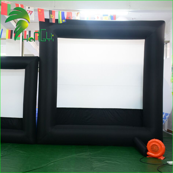 Sealed Type Inflatable Rear Projection Big Cinema Screen / Outdoor Inflatable Theater Screen For Sales