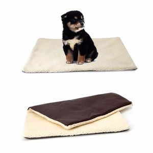 Pet Dog Cat Self Heating resistant Bed Pad Washable Warm Rug Thermal Blanket Mat