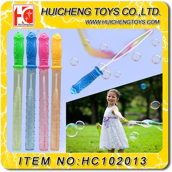 Wholesale 37CM big hole soap bubble blow stick wholesale bubble ...