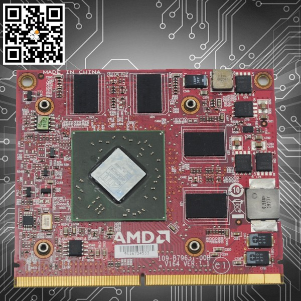Best for AMD ATI 1GB DDR2 MXM2 MXMII VG.M9606.003 Graphic card 1gb for ddr2 HD4650 VGA Video Card For Acer 7535G