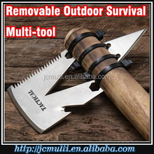 2017 21 functions new wilderness survival tool with Axe and Arrow when camping