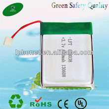 Long cycle life li-ion battery 053048 li-ion polymer battery