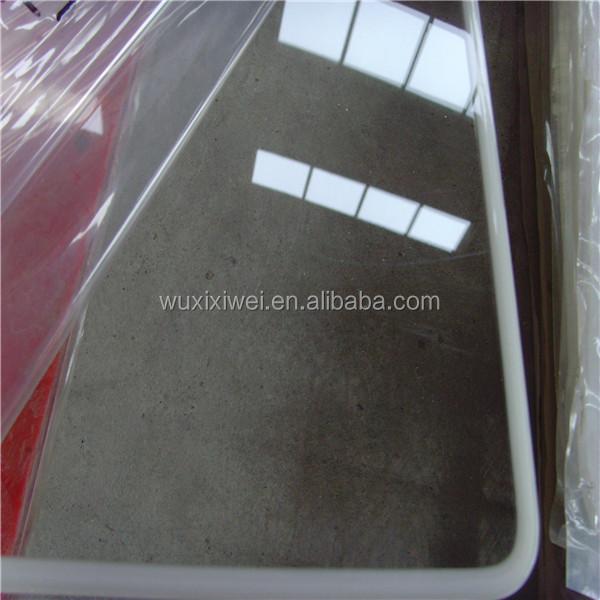 Acr lico fundido transparente hoja de vidrio 3mm 4mm plexigl s publicidad precio hojas de - Vidrio plastico transparente precio ...