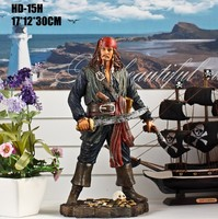 Pirates of the Caribbean figurine pirates captain jack doll