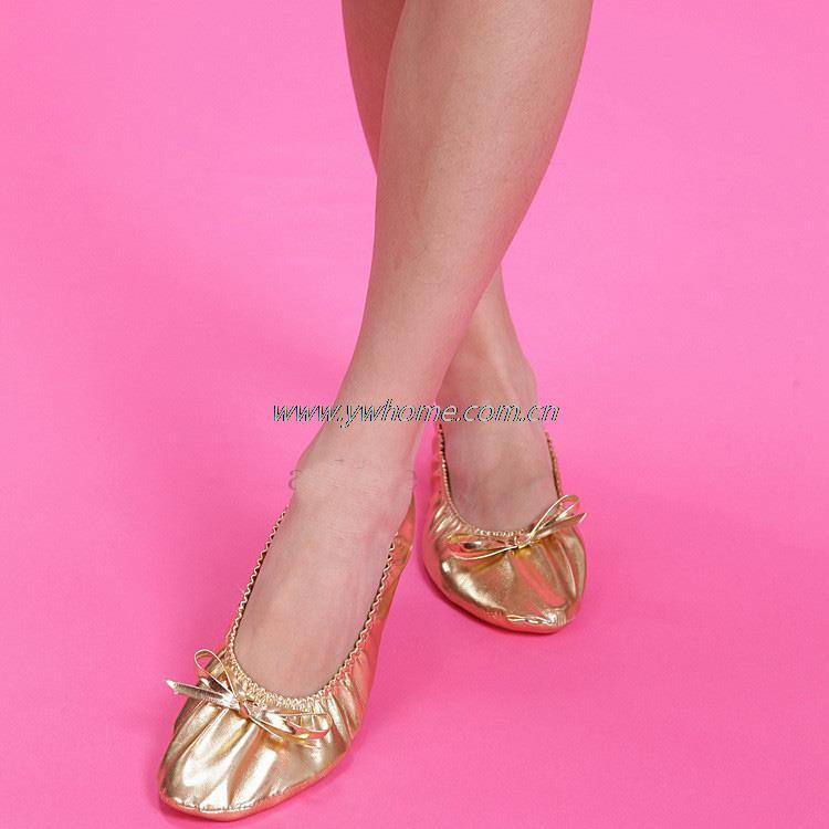 Gold Dance Shoes Soft Sole