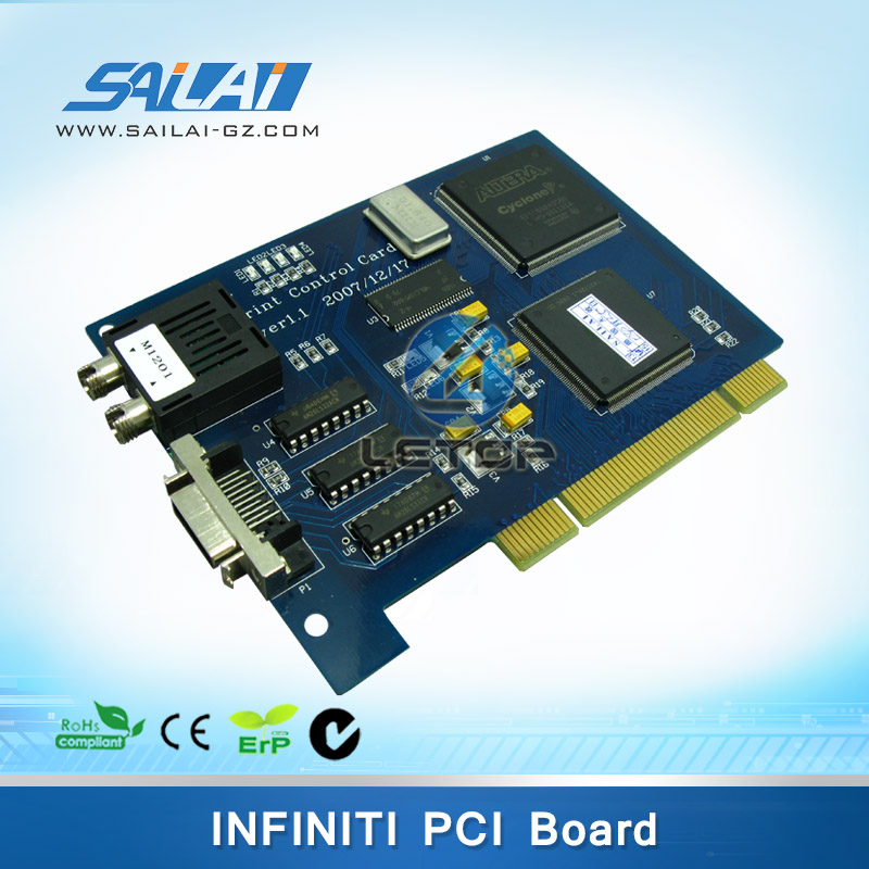 Printhead Control Board PCI Card for Large Format Inkjet Printer INFINITY FY-3208,etc.SPT-510/KONICA KM-512