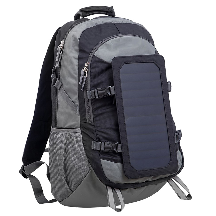 Custom Camping Charger Laptop Backpack Solar Battery Panel Carry Bag Product
