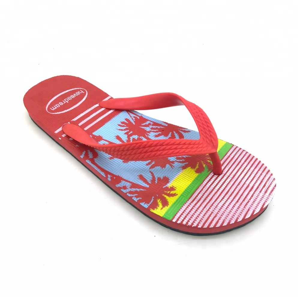 Latest africa high density women cheap summer beach <strong>slippers</strong> fashion printed flip flops for women shoes footwear