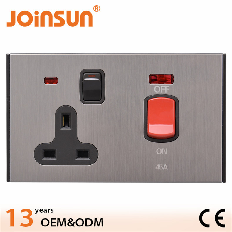 Good sale kitchen wall switch and socket,industrial socket outlets