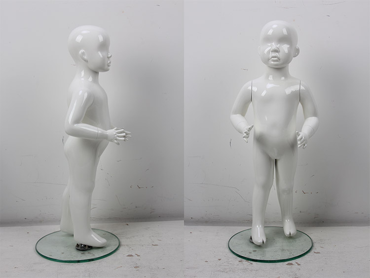 2019 New design fiberglass boys children kid mannequin