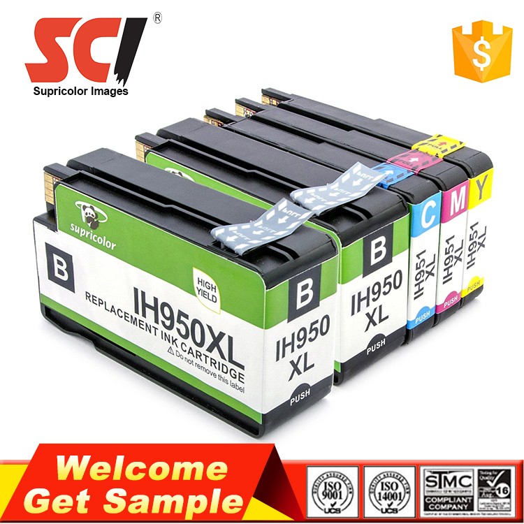 Compatible 950 951 cartridge for hp offcejet pro 8100 8600 8610 for hp ink cartridge 950xl