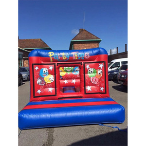 Party time 10ft x 12ft inflatable bouncy castle all ages inflatable jumping trampoline for sale