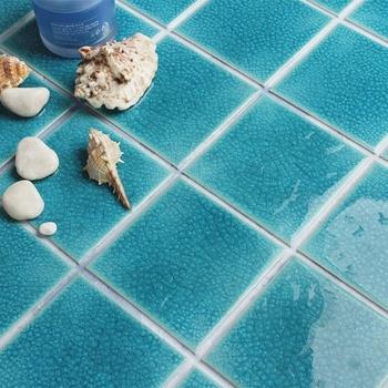 4 Schwere Knistern Porzellan Mosaik Glasierte Keramik Outdoor