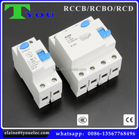 price earth leakage circuit breaker/10ma residual current Circuit breaker / RCBO/RCD/RCCB