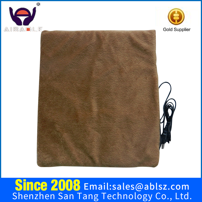 Wholesale 12V Electric Polar Fleece Heated Blanket for Car