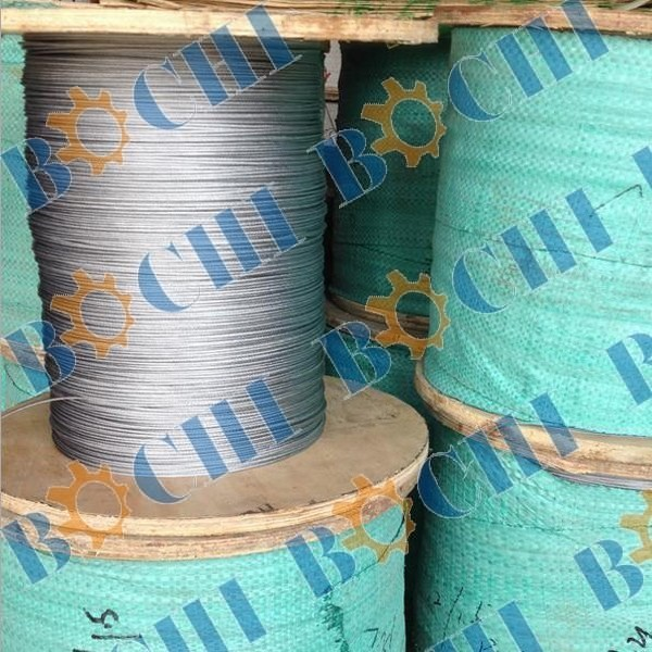Galvanized Locked Coil Steel Wire Rope - Buy Locked Coil Wire ...