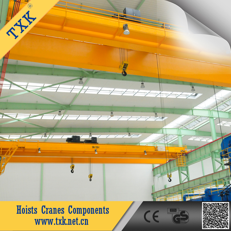 TXK supply Cranes & Hoists Overhead travelling cranes Double girder overhead travelling crane