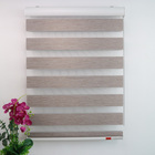 Multi Functional Heat Insulated Dual Roller Shades With Low Price