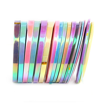 Nail Striping Tape Line Mermaid Candy Color Adhesive Sticker Decals Diy  Nail Art Tool Decoration 1mm 2mm 3mm - Buy Nail Striping Tape Line,Candy  Nail