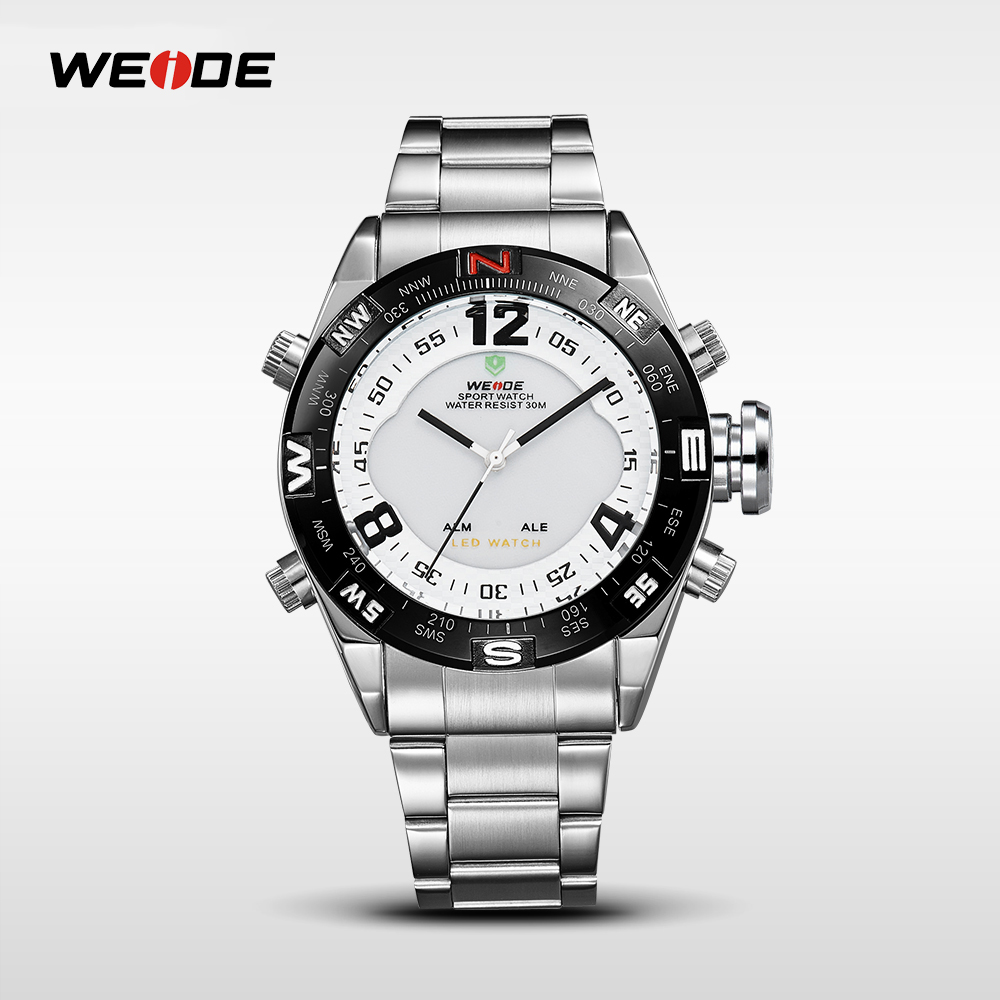 Weide watches for <strong>men</strong> WH2310 guangzhou led lights top selling watches