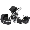Baby Stroller 3 in 1 travel system,new design pushchair EN1888:2012 /AS NZS2088:2013 standard