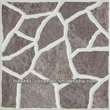 Vintage Ceramic Tile 40x40 Outdoor Porcelain Floor Pattern Mosaic