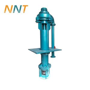 high chrome alloy rubber material abrasion resistant corrosion resistant vertical submersible slurry pump factory price