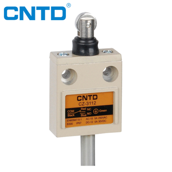 CNTD IP67 Waterproof NO NC 3M Cable Preweird Limit Switch (CZ-3112)