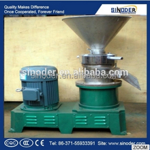peanut butter making machine can produce delicious nut butter