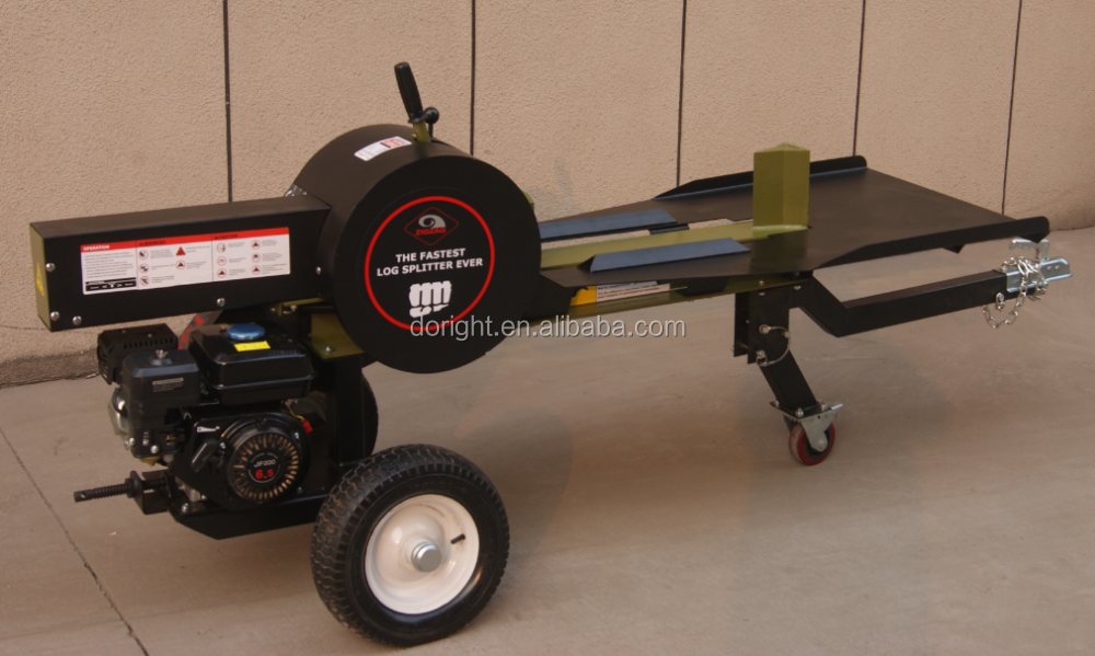 The fastest 34 Ton Log Splitter with big working table