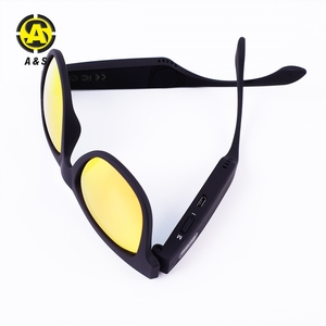 New arrival bone conduction glasses mobile phone bluetooth sunglasses