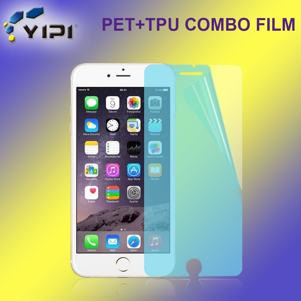 Latest Model 0.26Mm 5H TPU PET Explosion Proof Protector Film, Anti Glare Screen Shield For iPhone 6Plus<