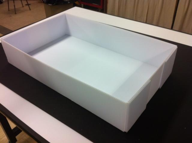 Coroplast Box Corrugated Plastic Box Mail Tray Buy