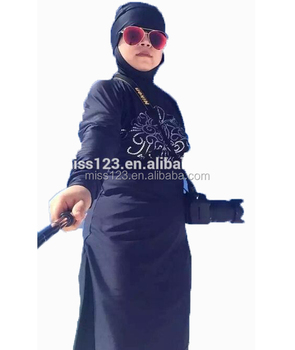 fully covered muslim islamic swimsuit