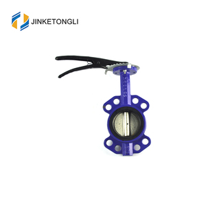 cheap price DN 40-DN 100 stainless steel disc rubber sealing butterfly valve