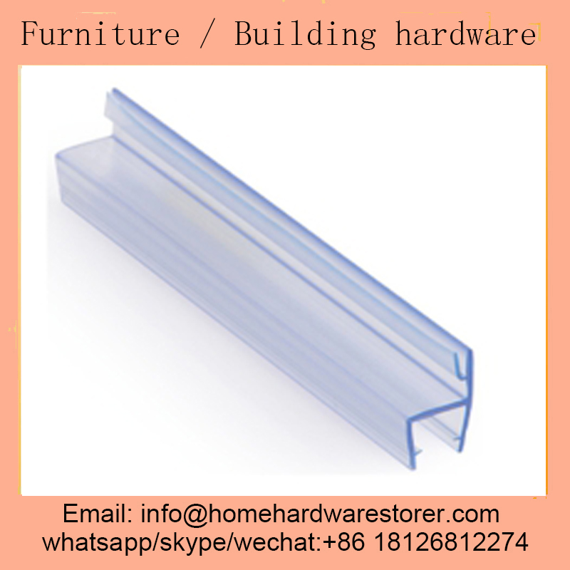 High Quality Bathroom Door Glass PVC Seal