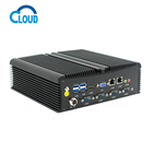 6 usb industrial embedded ultra low power mini pc i7 with dual lan