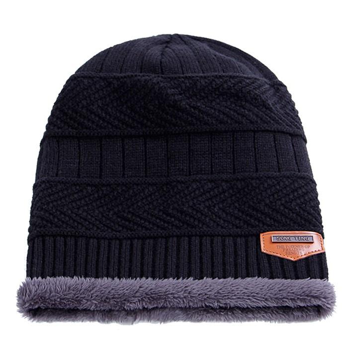 6ed357c180aa5 2016 Brand Beanies Knit Men s Winter Hat Caps Skullies Bonnet Winter Hats  For Men Women Beanie