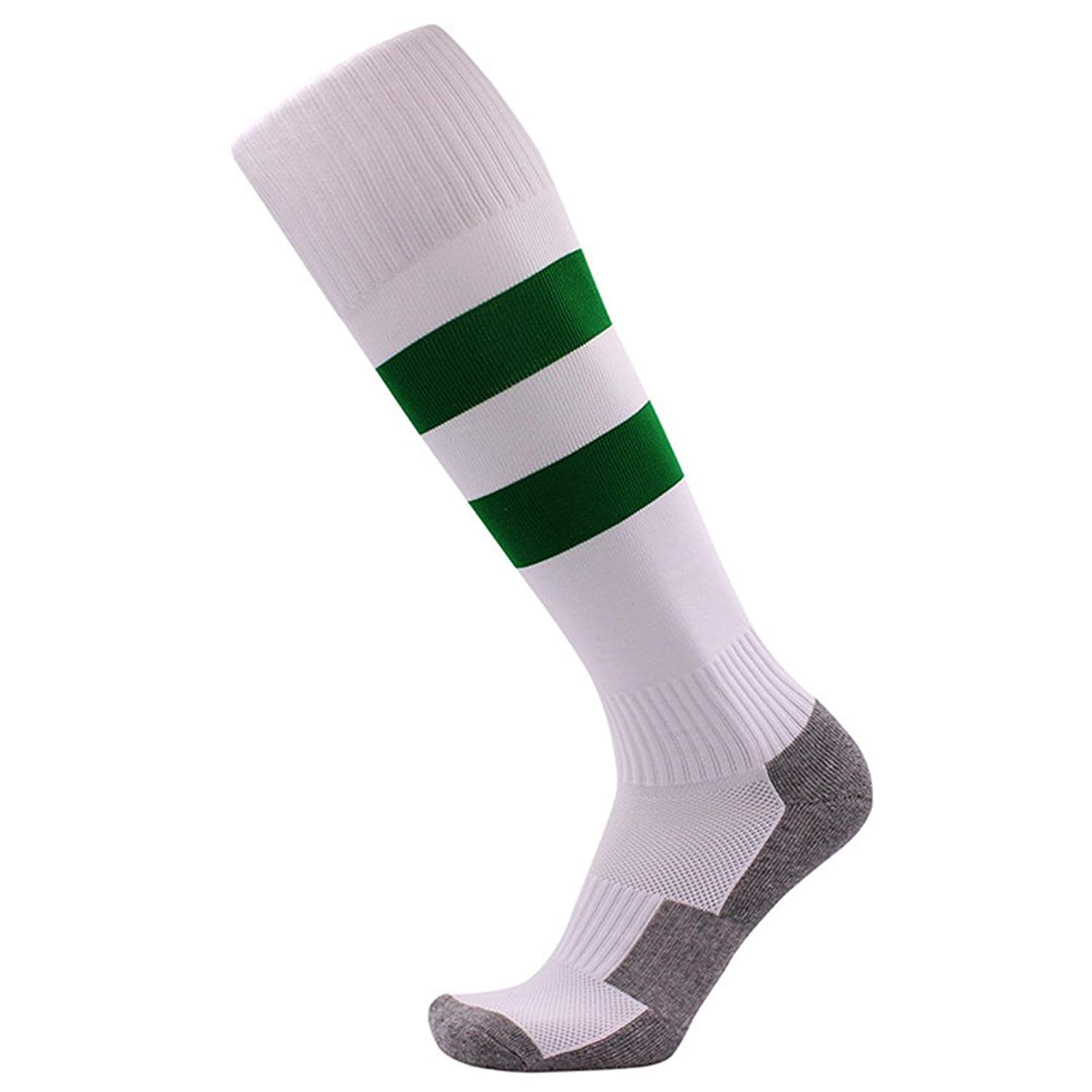 dcc078c3e Get Quotations · Nachvorn Little Boys/Girls Soccer Socks, Teens Knee High  Football Socks, Striped Rugby