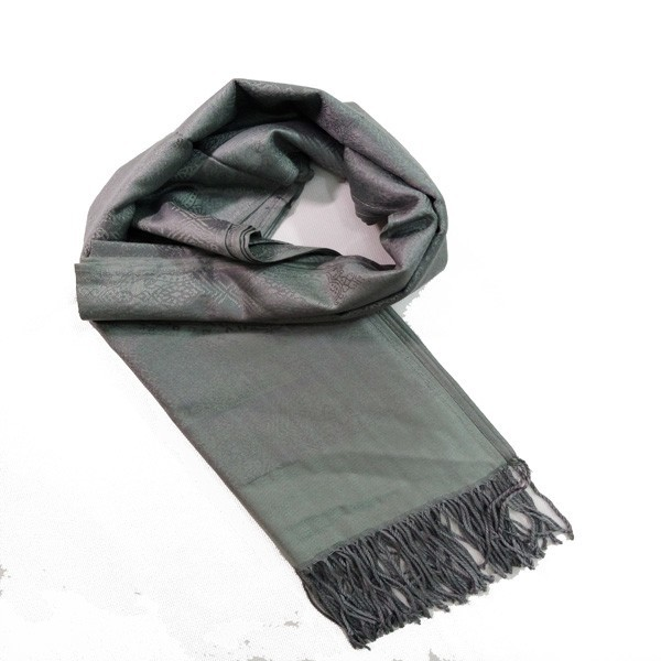 2015 newest jacquard low price pretty high visibility scarf