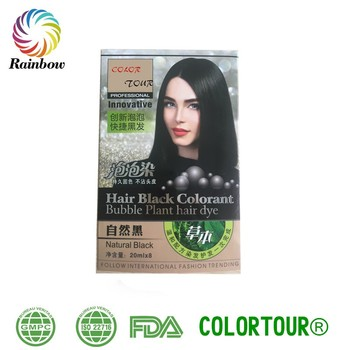 Colortour Easy And Nice Best At Home Hair Dye 5 Minutes Sachet 20ml ...