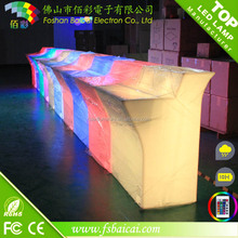 LED glow furniture /modern bar counter