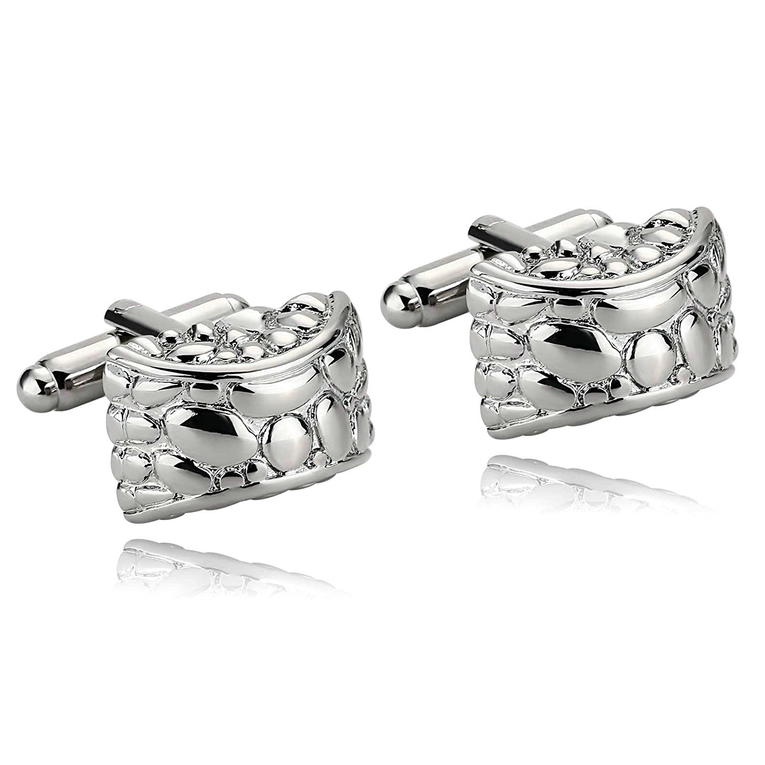 Jewelry Mens Cufflinks Stainless Steel 5 Styles Tuxedo Shirt Dress Suit With Xmas Gift Box Aooaz